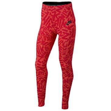 【海外限定】nike ナイキ nsw leg a see logo ロゴ leggings レギンス タイツ 女の子用 (小学生 中学生) 子供用