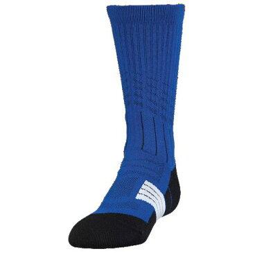 アンダーアーマー UNDER ARMOUR ソックス 靴下 UNRIVALED CREW SOCKS GRADE SCHOOL アメリカンフットボール アウトドア スポーツ 送料無料