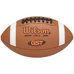 ウィルソン WILSON フットボール GS(GRADESCHOOL) ジュニア キッズ GST TDJ JUNIOR COMPOSITE FOOTBALL GSGRADESCHOOL スポーツ アウトドア アメリカンフットボール ボール 送料無料