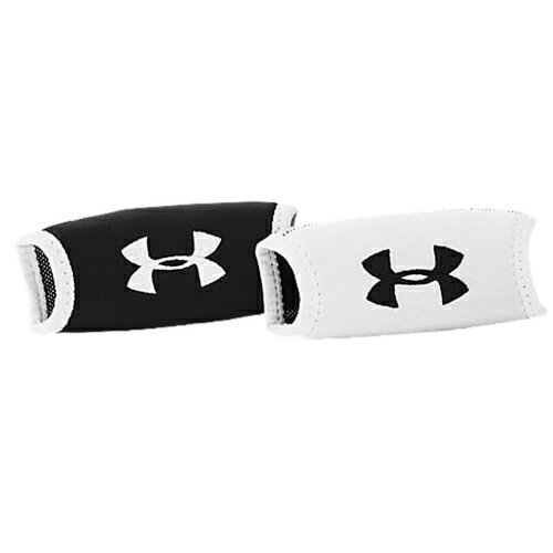 Under Armour Home and Away Chin Pads - Mens メンズ black 黒・ブラック/白・ホワイ...
