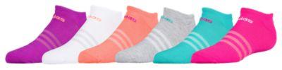 アディダス ソックス 靴下 女の子用 (小学生 中学生) 子供用 adidas superlite 6pack no show socks マタニティ キッズ タイツ ベビー