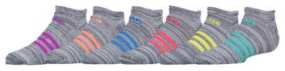 アディダス ソックス 靴下 女の子用 (小学生 中学生) 子供用 adidas superlite 6pack no show socks ベビー キッズ マタニティ タイツ