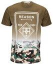 ReasonBetaCamoDipDyeT-ShirtTシャツ-Mensメンズ白・ホワイト