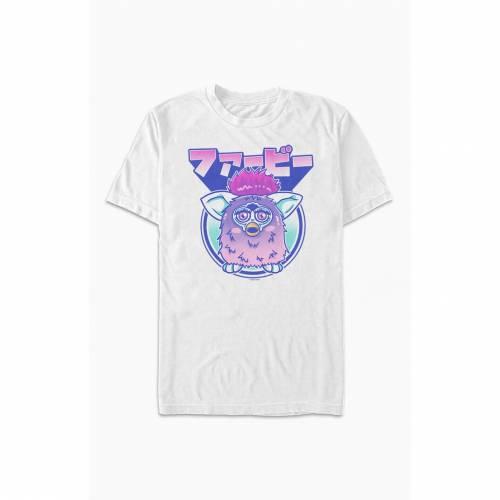 トップス, Tシャツ・カットソー PACSUN T PACSUN KANJI FURBY TSHIRT WHITE