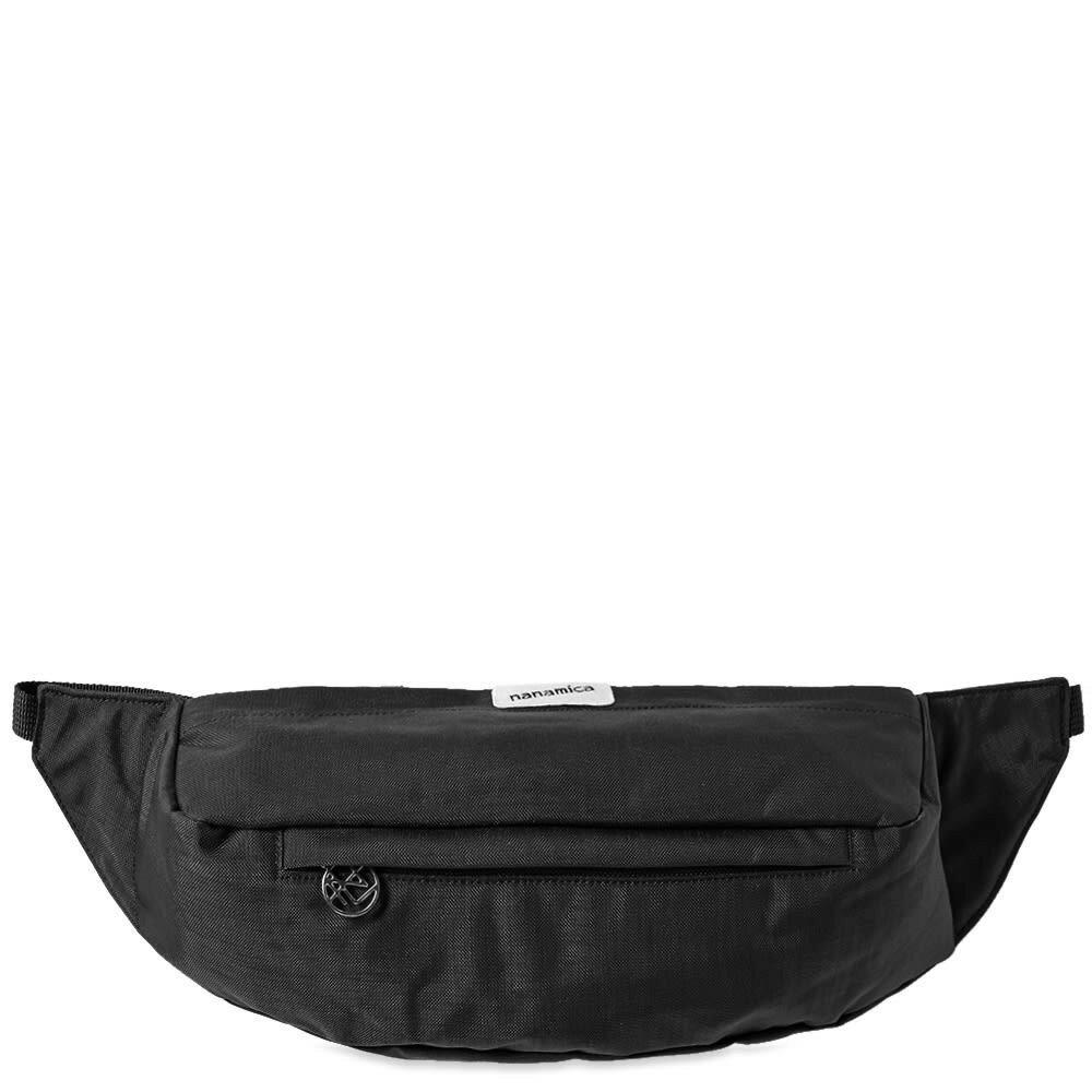 男女兼用バッグ, ボディバッグ・ウエストポーチ NANAMICA WAIST BAG BLACK