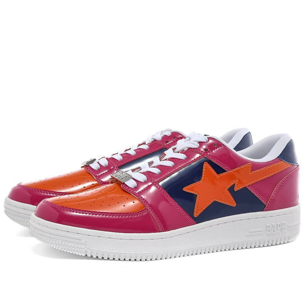 メンズ靴, スニーカー A BATHING APE COLOUR BLOCK BAPE STA LOW M1 PINK