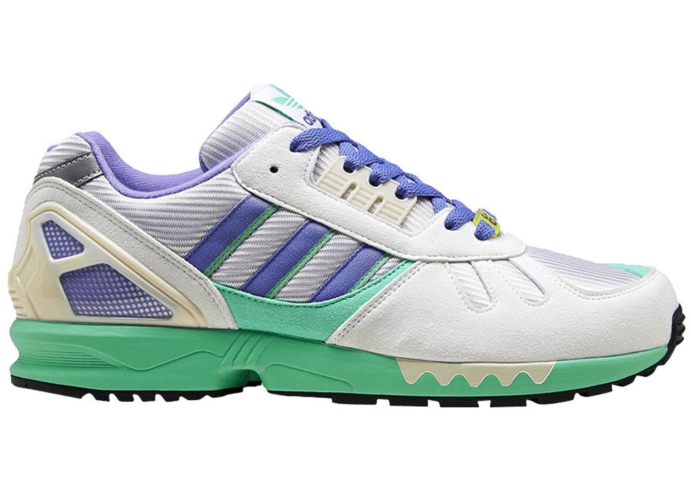 メンズ靴, スニーカー  ADIDAS ZX 7000 30 YEARS OF TORSION WHITE LILAC GREEN