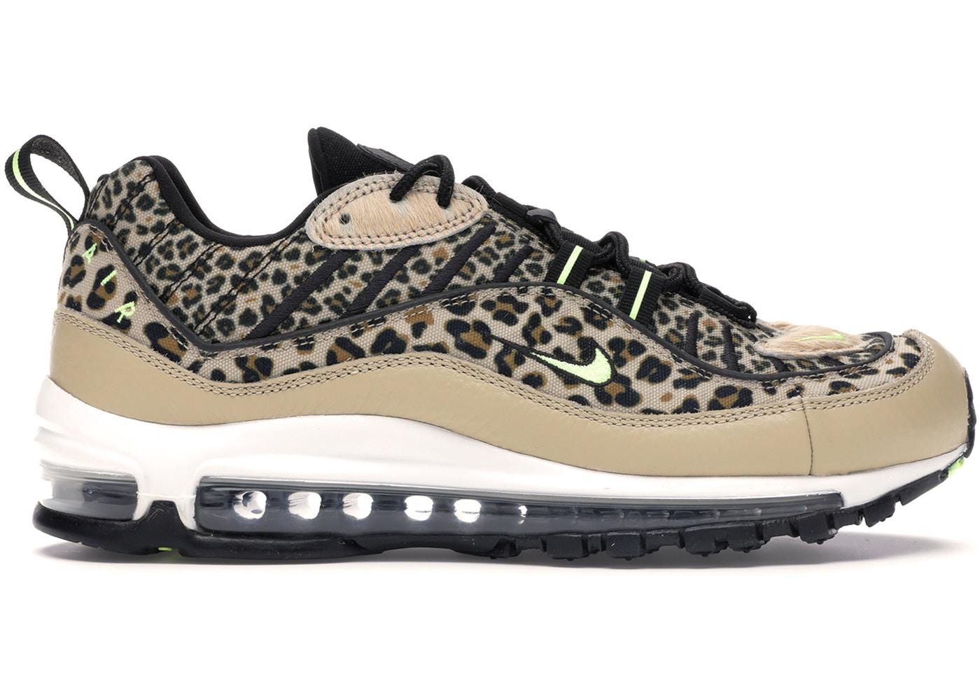 レディース靴, スニーカー  NIKE AIR MAX 98 ANIMAL PACK WOMENS DESERT ORE VOLT GLOWBLACKWHEATWHITE