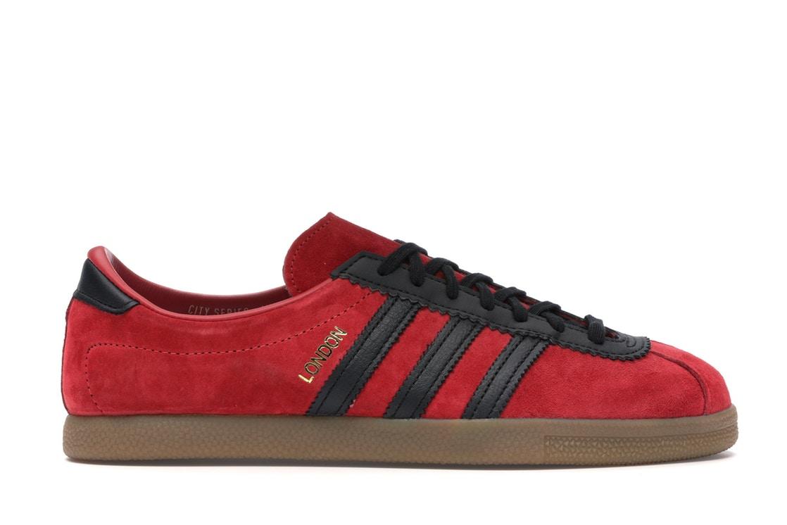 メンズ靴, スニーカー  ADIDAS SIZE? LONDON CITY SERIES RED BLACK GUM