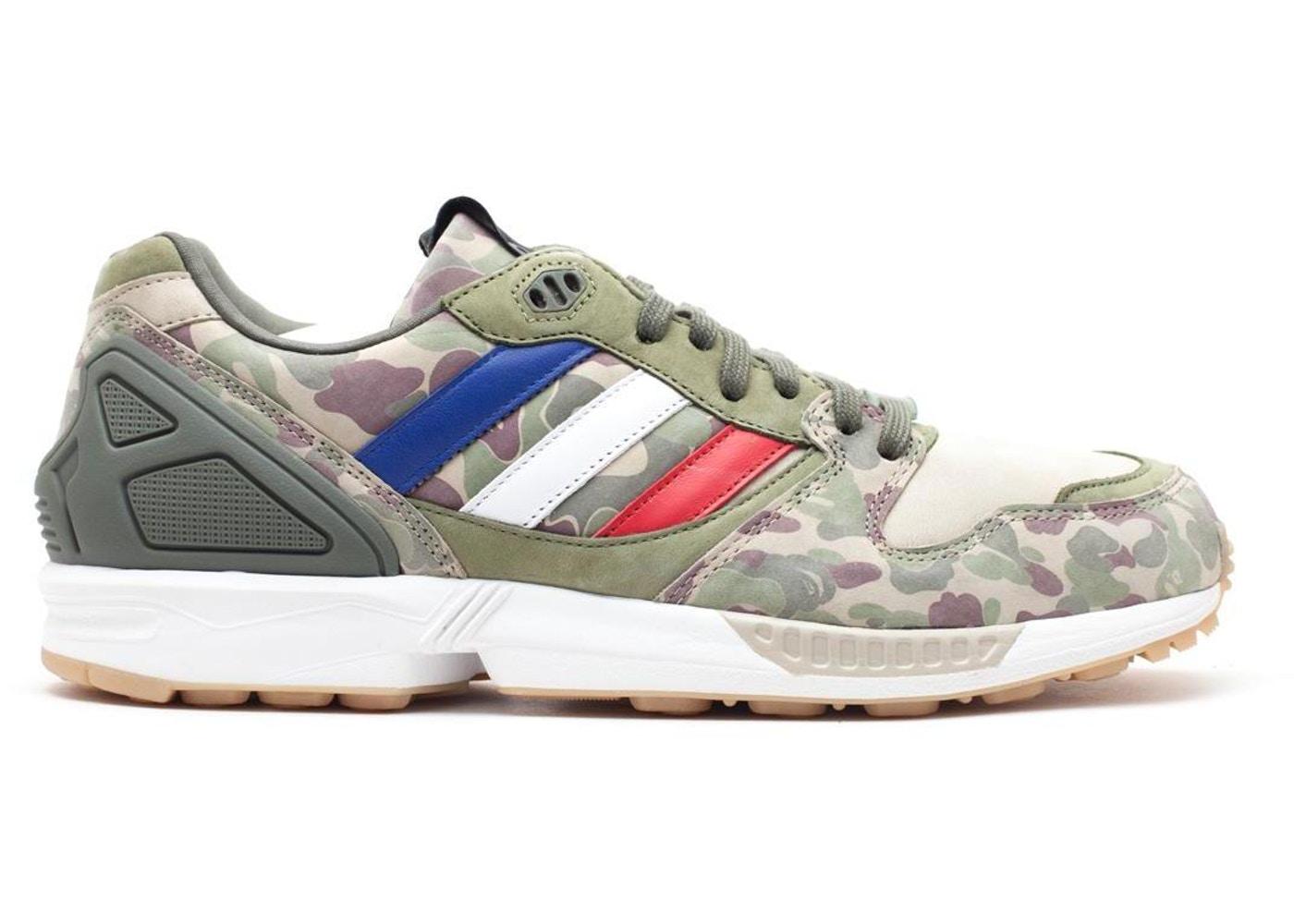 メンズ靴, スニーカー  ADIDAS CAMO ZX 5000 UNDFTD X BAPE TECGOL WHTVAP GUM3