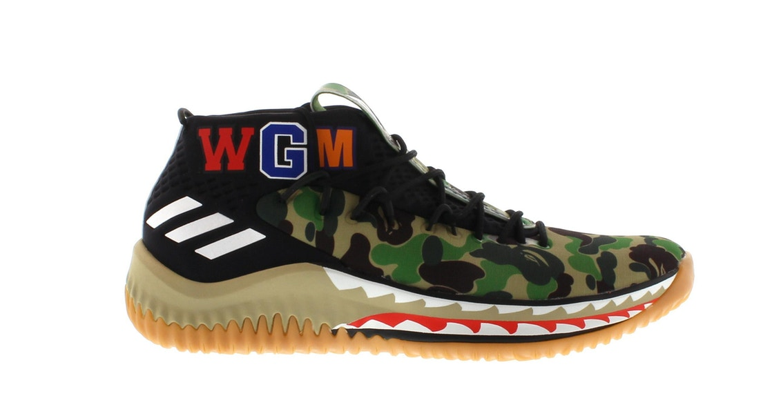 Adidas Bathing Ape ADIDAS DAME 4 A BATHING APE C...