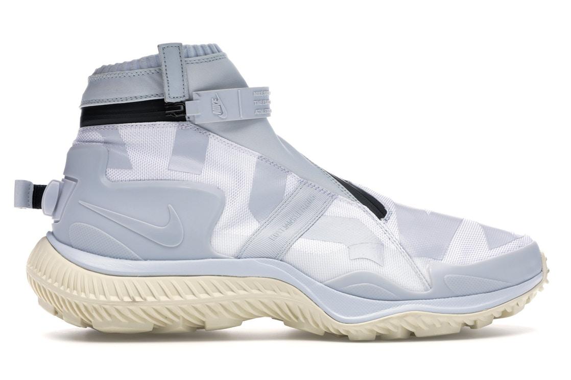メンズ靴, スニーカー  NIKE WHITE GAITER BOOT GYAKUSOU PURE PLATINUM PLATINUMBLACKFOSSIL