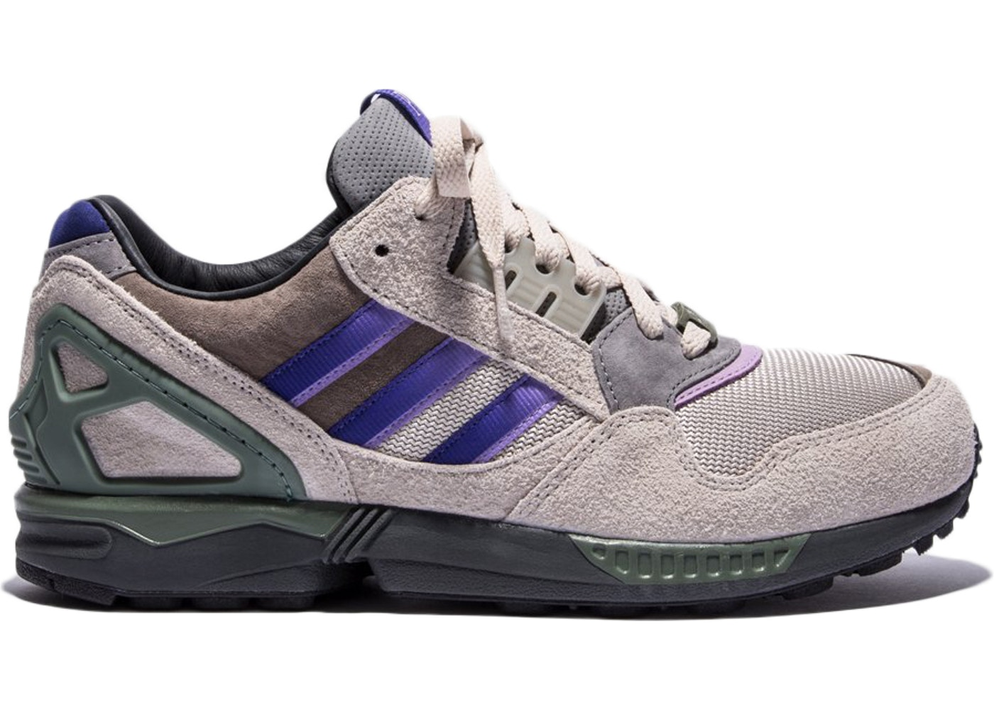 メンズ靴, スニーカー  ADIDAS ZX9000 PACKER SHOES MEADOW VIOLET GREY PURPLE GREEN