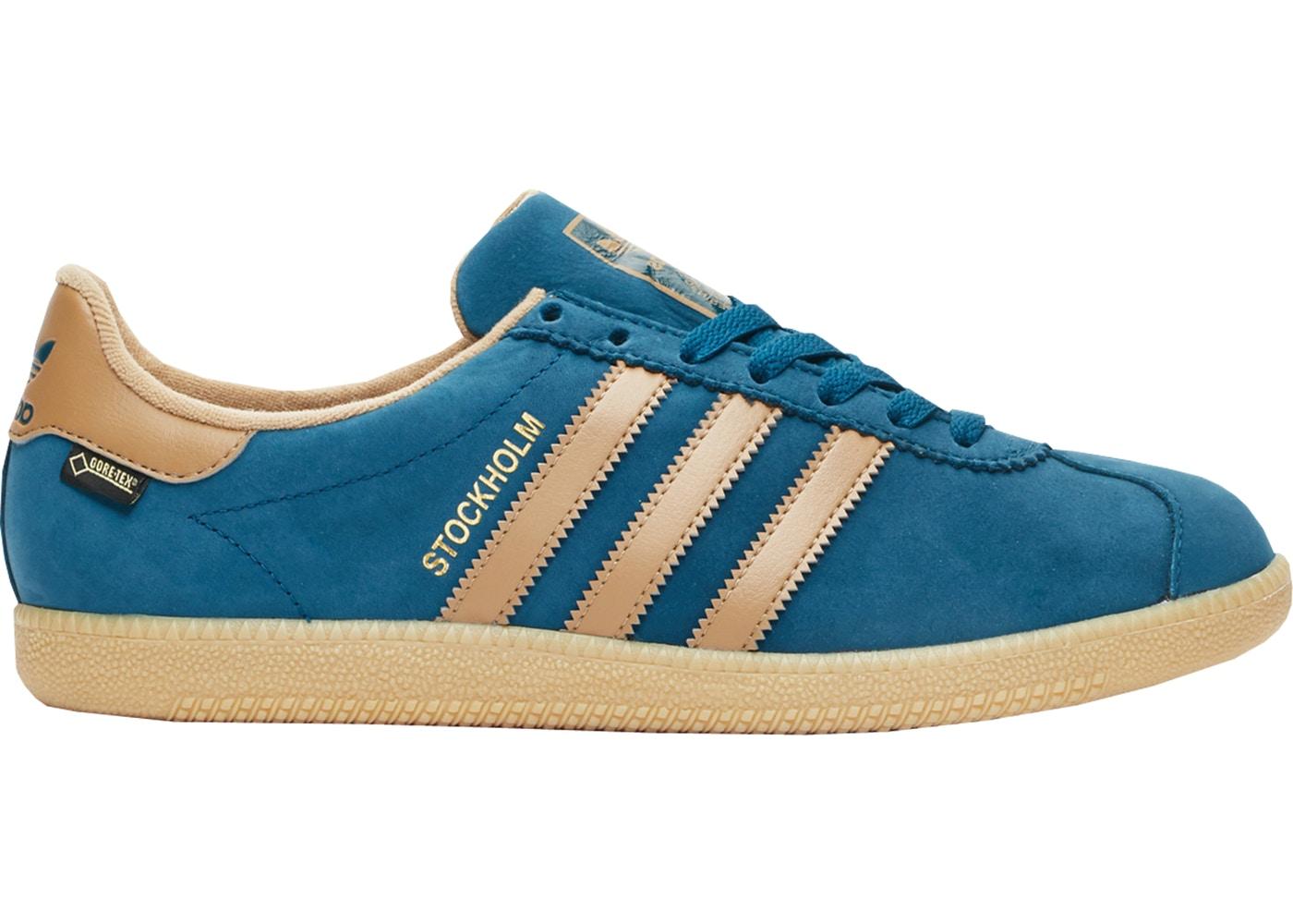 メンズ靴, スニーカー  ADIDAS STOCKHOLM GORETEX BLUE NIGHT CARBOARD GUM