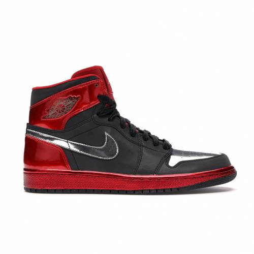 メンズ靴, スニーカー  JORDAN SUMMER BLACK 1 RETRO HIGH OG LEGENDS OF 3M SAMPLE UNIVERSITY REDCHROME