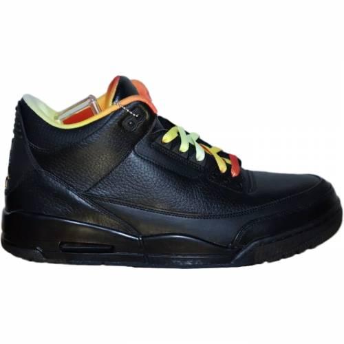 メンズ靴, スニーカー  JORDAN VS. 3 RETRO DRAKE LIL WAYNE SAMPLE BLACK ORANGE