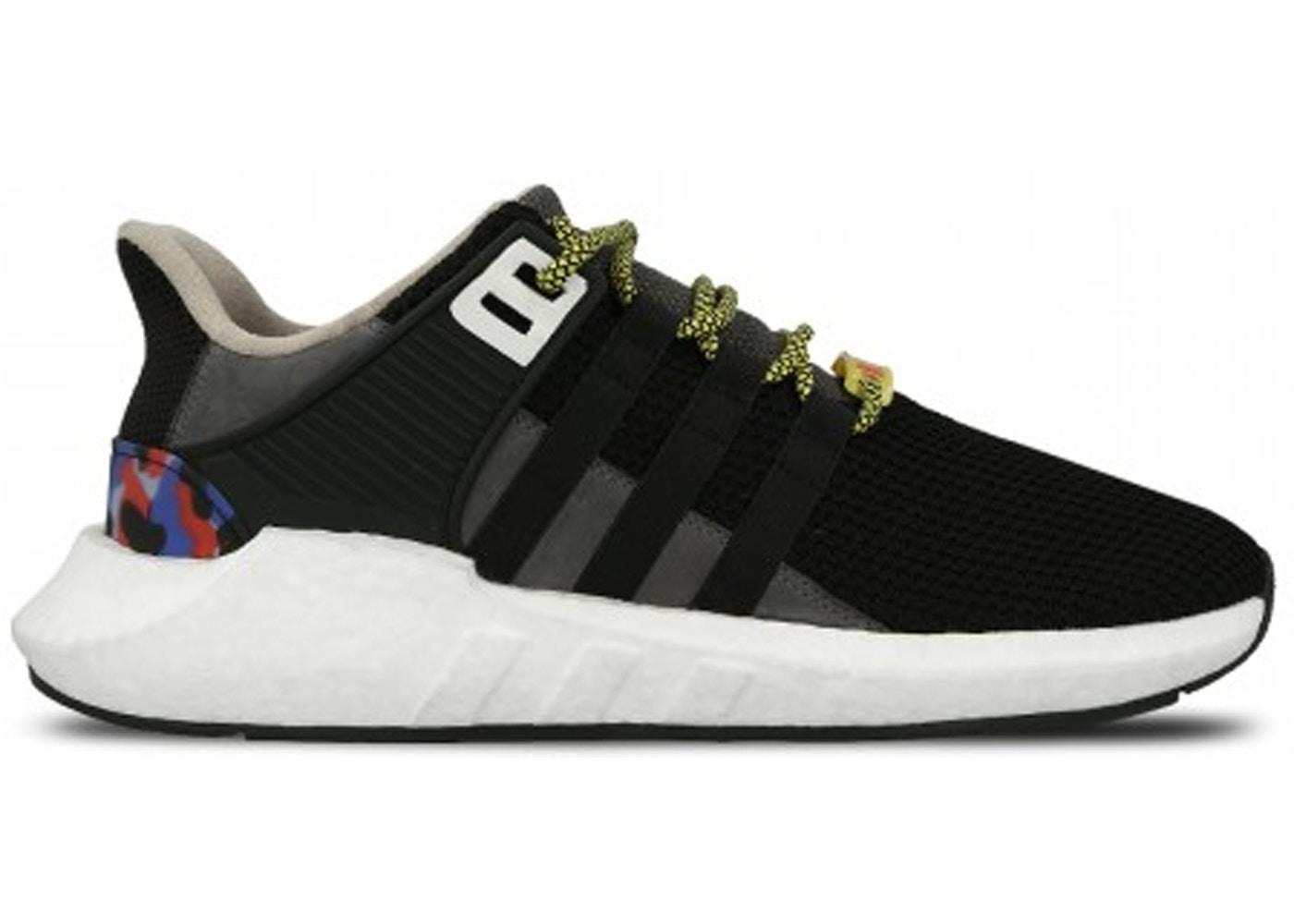 メンズ靴, スニーカー  ADIDAS EQT SUPPORT 93 17 BERLIN BVG CORE BLACK MULTICOLOR RUNNING WHITE