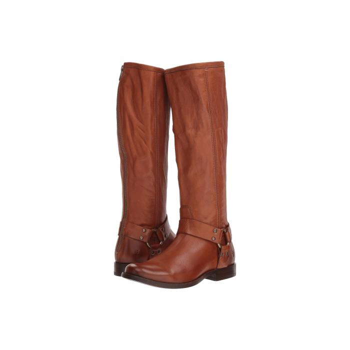 FRYE レディース 【 Phillip Harness Tall 】 Whiskey Soft Vintage Leather