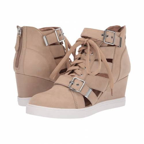 LINEA PAOLO スニーカー レディース 【 Fave Wedge Sneaker 】 Sand Nubuck Leather