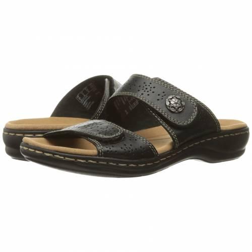 レディース靴, ミュール  CLARKS BLACK CLARKS LEISA LACOLE LEATHER