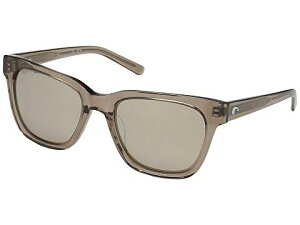 COSTA 銀色 シルバー 【 SILVER COSTA COQUINA COPPER MIRROR 580G SHINY TAUPE CRYSTAL FRAME 】 バッグ 眼鏡