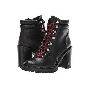 SAM EDELMAN Black Black Premium Leather Sneakers [BLACK PREMIUM SAM EDELMAN SADE BALLY LEATHER]