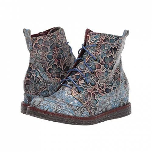 レディース靴, スニーカー LARTISTE BY SPRING STEP Philia Blue Multi