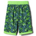 コロンビアキッズ COLUMBIA KIDS 緑 グリーン SHORES™ 【 GREEN COLUMBIA KIDS SANDY BOARDSHORTS LITTLE BIG MAMBA LEAFY PREDATORS 】 キッズ ベビー マタニティ