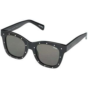 QUAY AUSTRALIA 黒 ブラック 銀色 シルバー 【 BLACK SILVER QUAY AUSTRALIA AFTER HOURS SMOKE RHINESTONE 】 バッグ 眼鏡