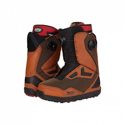 THIRTYTWO ブーツ 茶 ブラウン スニーカー 【 BROWN THIRTYTWO TM2 DOUBLE BOA SNOWBOARD BOOT 】 メンズ スニーカー