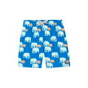 TOM & TEDDY エレファント 【 ELEPHANT SWIM TRUNKS CHALKY BLUE 】 キッズ ベビー マタニティ 送料無料
