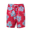 SNAPPER ROCK 【 HIBISCUS SWIM TRUNKS BRIGHT RED 】 キッズ ベビー マタニティ 送料無料