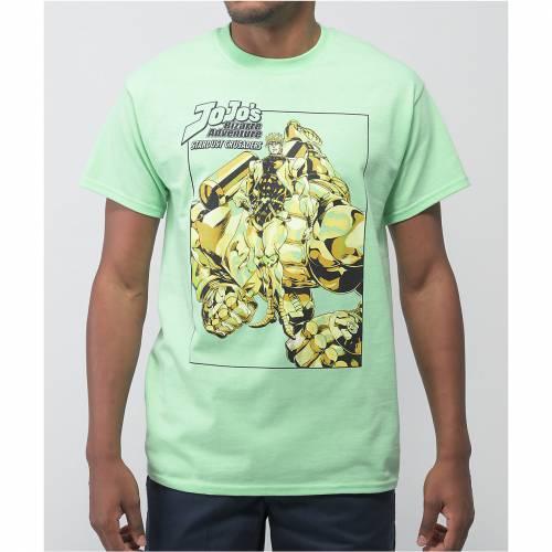 トップス, Tシャツ・カットソー JOJOS BIZARRE ADVENTURE T JOJOS GREEN BIZARRE ADVENTURE JOJOS STARDUST TSHIRT