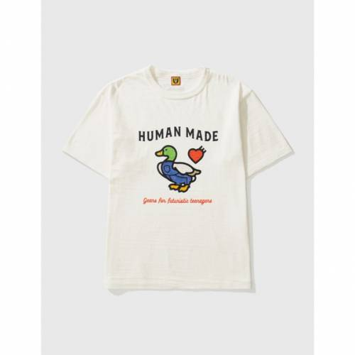 トップス, Tシャツ・カットソー  T 2212 HUMAN MADE TSHIRT WHITE