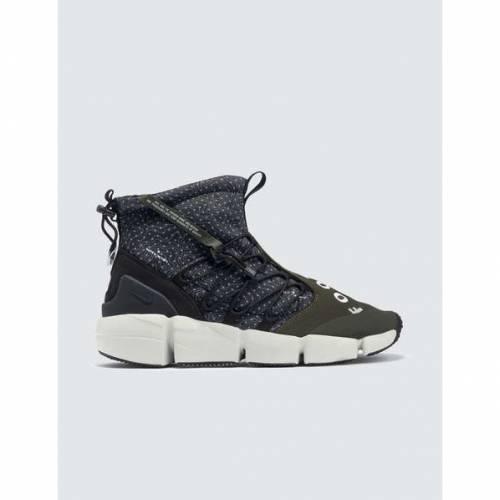 メンズ靴, スニーカー  NIKE AIR NIKE FOOTSCAPE MID UTILITY BLACK WHITECARGO KHAKILIGHT BONE