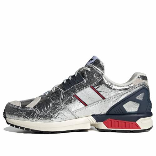 メンズ靴, スニーカー  BOSTON MARATHON SILVER ADIDAS CONCEPTS X ZX 9000 MARATHON RUNNING SHOES SNEAKERS METALLIC SCARLET COLLEGIATE NAVY