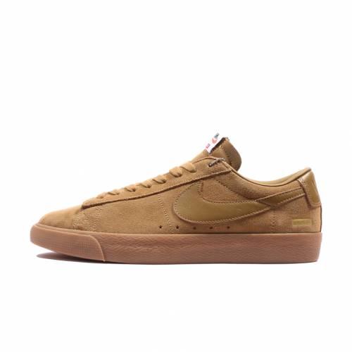 メンズ靴, スニーカー  SUPREME NIKE BLAZER LOW GT QS SNEAKERS SHOES X GOLDEN BRIGE