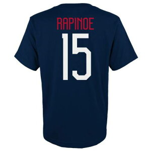 OUTERSTUFF レディース Tシャツ 紺 ネイビー メンズファッション トップス カットソー メンズ 【 Megan Rapinoe Uswnt 2019 Fifa Womens World Cup Champions Name And Number T-shirt - Navy 】 Navy