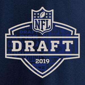 NFL PRO LINE BY FANATICS BRANDED 子供用 ロゴ Tシャツ 紺 ネイビー キッズ ベビー マタニティ トップス ジュニア 【 Youth 2019 Nfl Draft Logo T-shirt - Navy 】 Navy