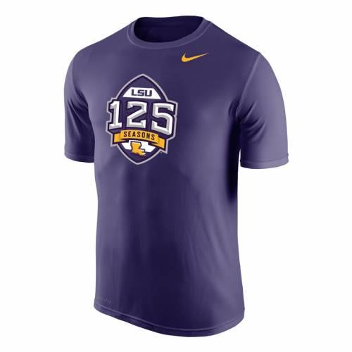 トップス, Tシャツ・カットソー  NIKE T LSU TIGERS 125 SEASONS PERFORMANCE TSHIRT PURPLE