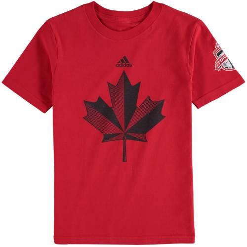 トップス, Tシャツ・カットソー  ADIDAS T TORONTO FC YOUTH JERSEY HOOK TSHIRT RED