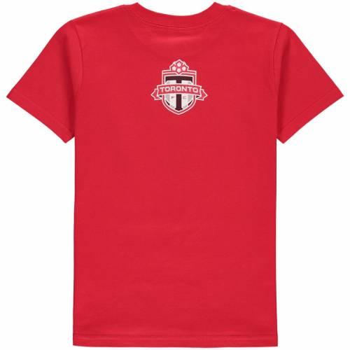 トップス, Tシャツ・カットソー  ADIDAS T TORONTO FC YOUTH ELEMENT TSHIRT RED