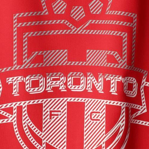 トップス, Tシャツ・カットソー  ADIDAS T SHOOTING TORONTO FC YOUTH ACCURACY PERFORMANCE CLIMALITE TSHIRT RED