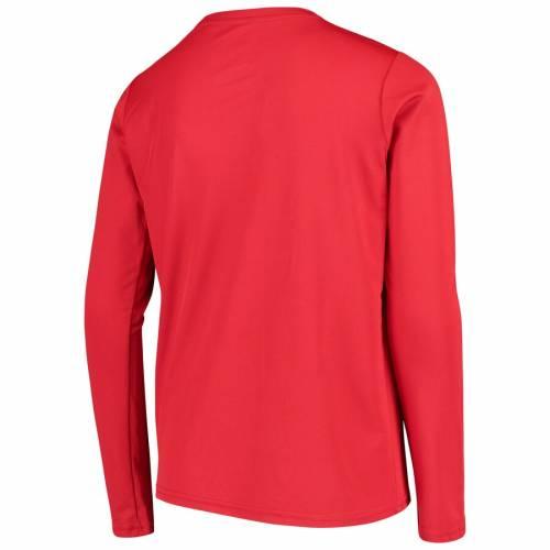トップス, Tシャツ・カットソー  ADIDAS T SLEEVE TORONTO FC YOUTH FLIP THROW LONG TSHIRT RED