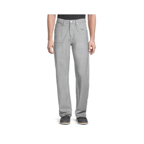 メンズファッション, ズボン・パンツ  HELMUT LANG REFLECTIVE MASC LO EASY JEANS GREY