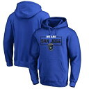 FANATICS BRANDED 【 SAN JOSE EARTHQUAKES WE ARE PULLOVER HOODIE BLUE 】 メンズファッション トップス パーカー 送料無料