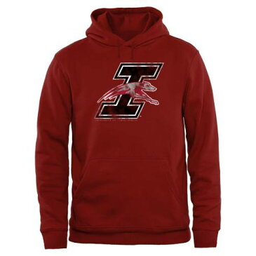 FANATICS BRANDED インディアナポリス クラシック & 【 INDIANAPOLIS GREYHOUNDS BIG TALL CLASSIC PRIMARY PULLOVER HOODIE CARDINAL 】 メンズファッション トップス パーカー 送料無料