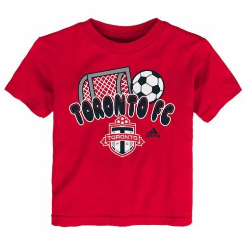 トップス, Tシャツ・カットソー  ADIDAS T RED ADIDAS TODDLER SCORE TSHIRT T