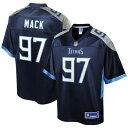 NFL PRO LINE テネシー タイタンズ ジャージ 紺 ネイビー スポーツ アウトドア アメリカンフットボール メンズ 【 Isaiah Mack Tennessee Titans Player Jersey - Navy 】 Navy