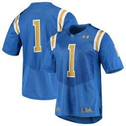 【あす楽】アンダーアーマー UNDER ARMOUR カルフォルニア ブルーインズ チーム ジャージー 青色 ブルー #1 【 TEAM UNDER ARMOUR REPLICA FOOTBALL JERSEY BLUE 】 スポーツ アウトドア アメリカンフットボール